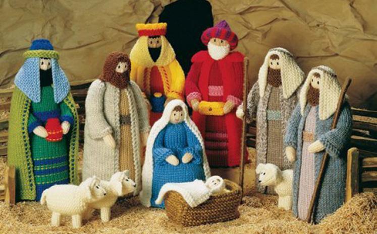 Рождественское чудо: делаем вертеп своими руками