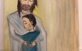 Отцовские объятия и любовь к сыну