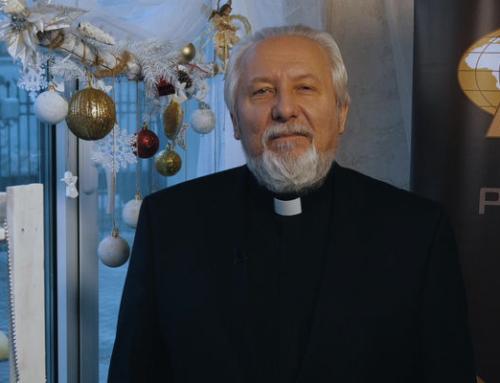 Поздравление епископа Сергея Ряховского с Рождеством Христовым и Новым 2020 годом!